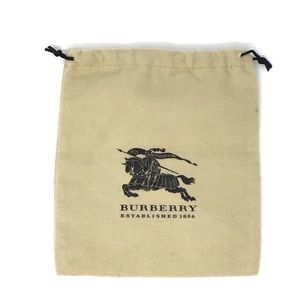 Burberry Accessories/ Jewelry Dust Bag